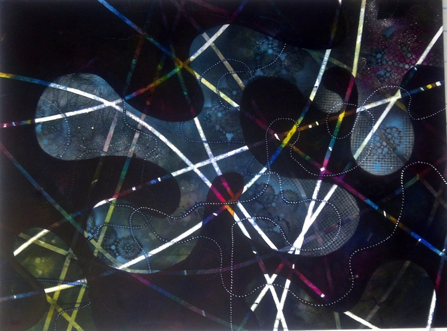 Parallel Intensity II Painting by Ava Reeves
